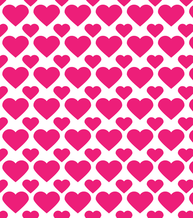 heart seamless pattern thumb How to create a heart icon & heart seamless pattern