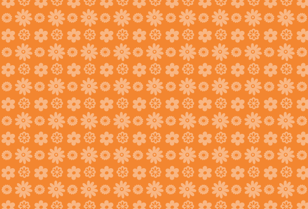 orange-petal-pattern