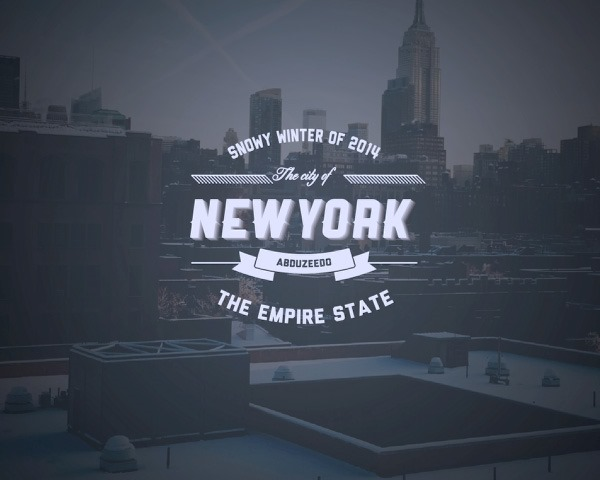 new york type thumb 30 Fresh new illustrator tutorials from 2014
