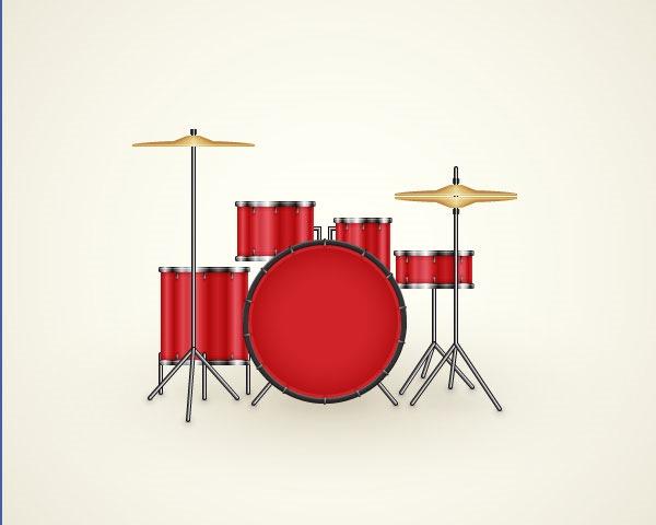 drum kit thumb Best Of Web And Design April 2014