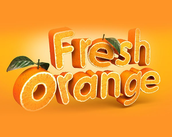fresh orange illustration thumb Best Of Web And Design April 2014