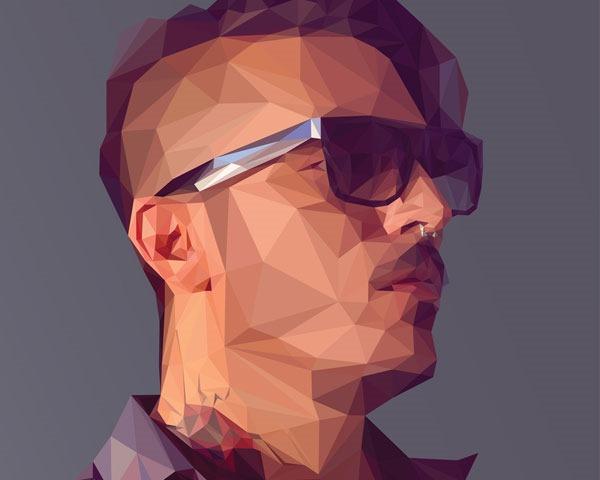 polgon illustration thumb Best Of Web And Design April 2014