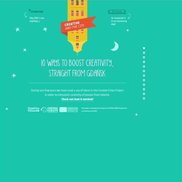 10ways thumb 50 Mind blowing examples of parallax website designs