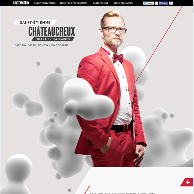 chateaucreux 50 Mind blowing examples of parallax website designs