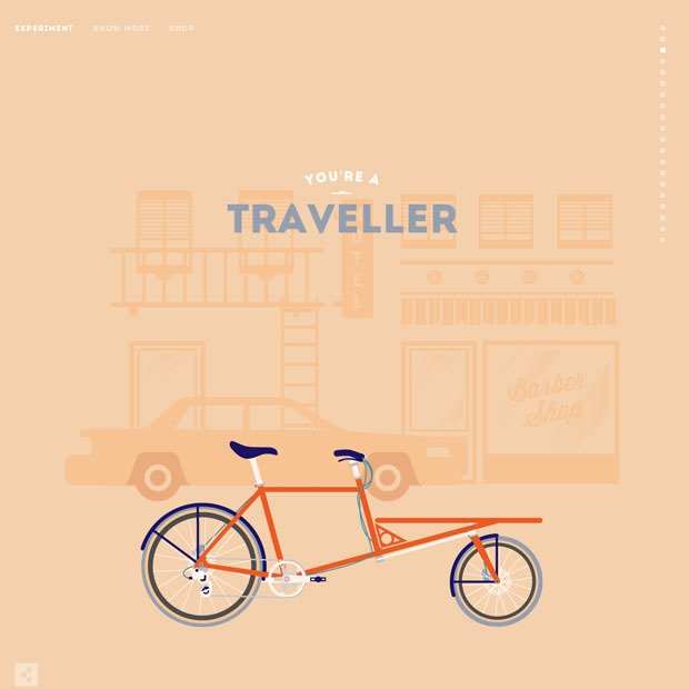cycle moon thumb 50 Mind blowing examples of parallax website designs