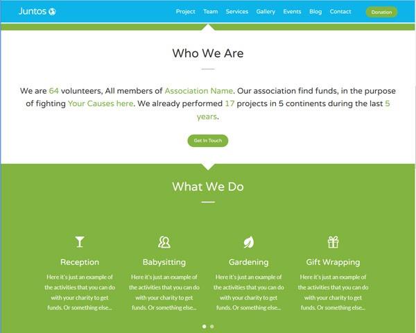 juntos thumb 50 best free html responsive templates