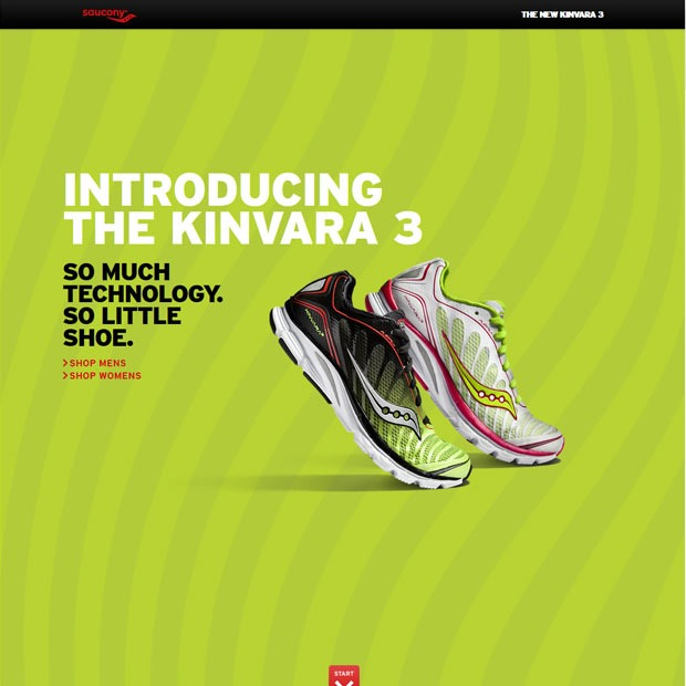 kinvara thumb 50 Mind blowing examples of parallax website designs