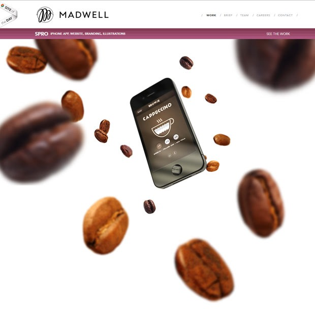 madwell 50 Mind blowing examples of parallax website designs