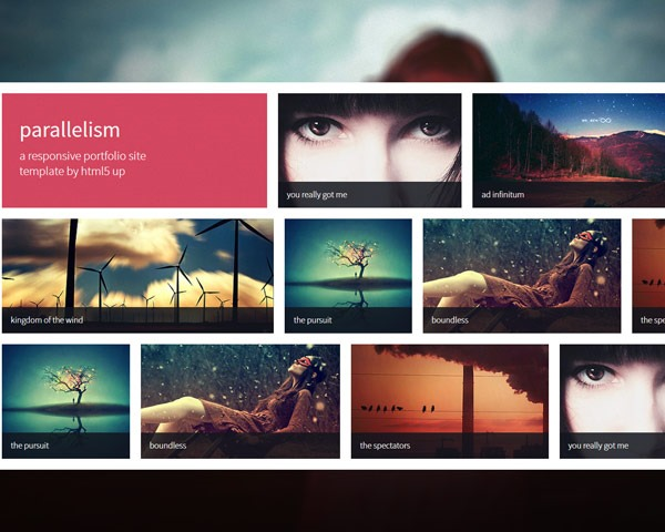 parallelism thumb 50 best free html responsive templates