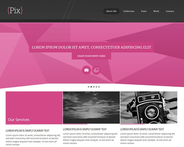 pix thumb 50 best free html responsive templates