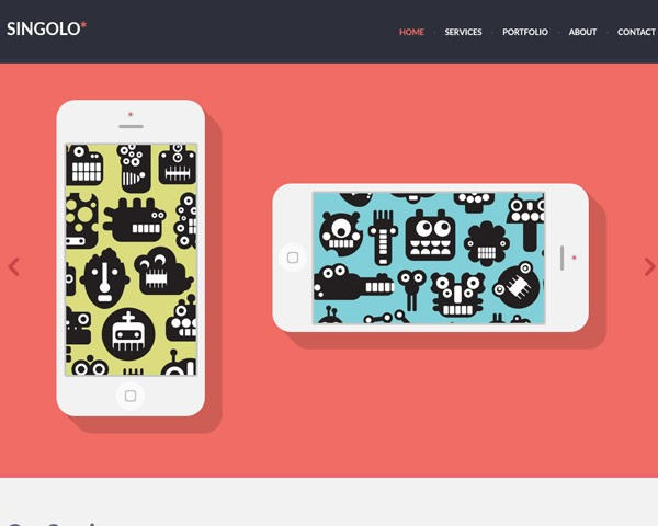 singolo thumb 50 best free html responsive templates