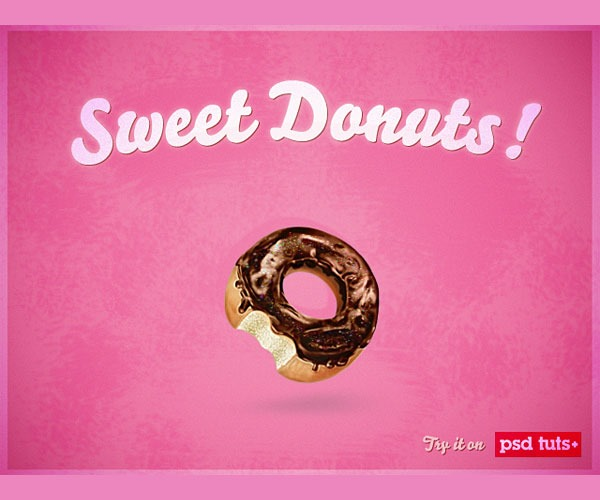 donut icon thumb 50 Photoshop tutorials for creating amazing icons