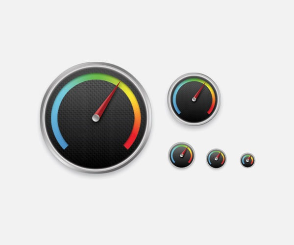 gauge icon thumb 50 Photoshop tutorials for creating amazing icons