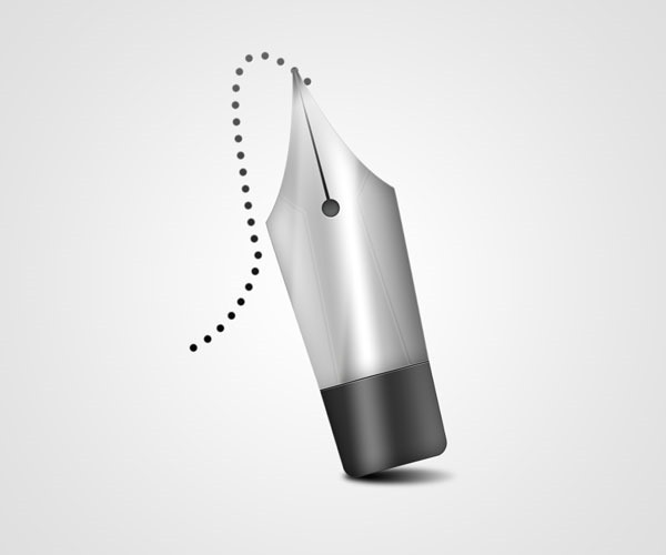pen tool icon thumb 50 Photoshop tutorials for creating amazing icons