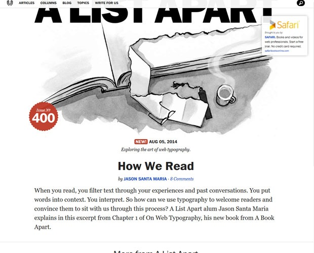 alist 20 Blogs every web designer should be reading