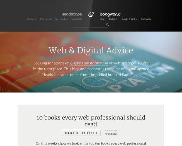 boagworld 20 Blogs every web designer should be reading