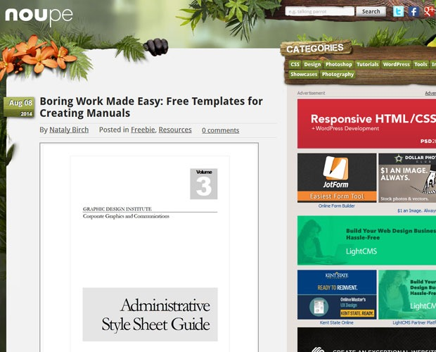 moupe 20 Blogs every web designer should be reading
