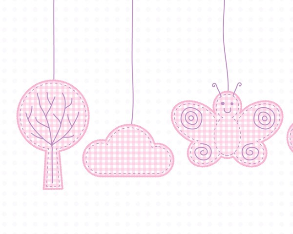 pink baby girl pattern thumb Best of the web and design in August 2014