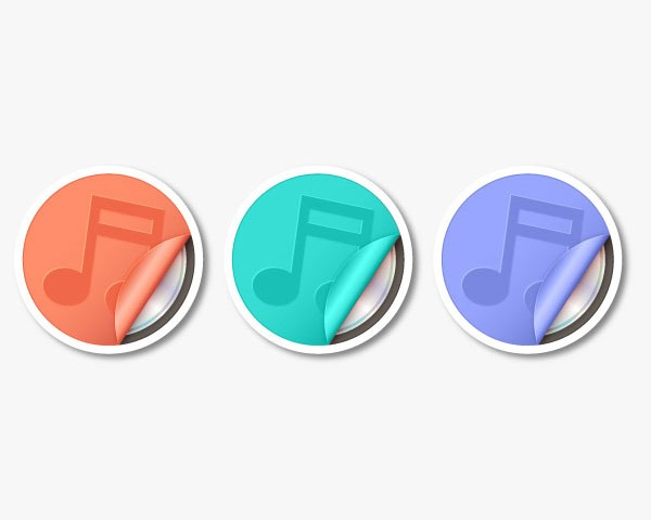 sticky icons Best of the web and design in August 2014