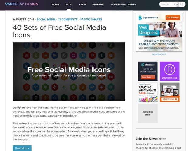 vanderley design 20 Blogs every web designer should be reading
