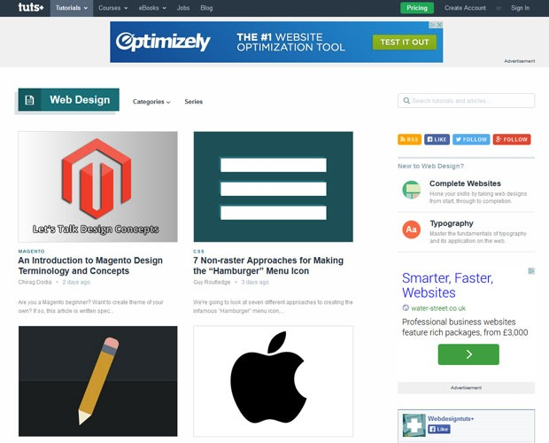 webdesign tuts 20 Blogs every web designer should be reading