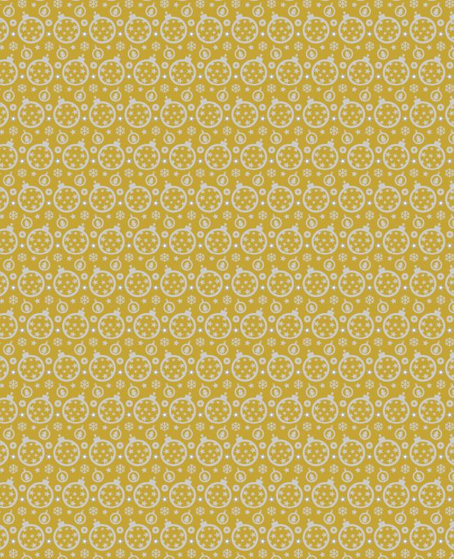 gold christmas pattern Festive Christmas ornament seamless vector pattern
