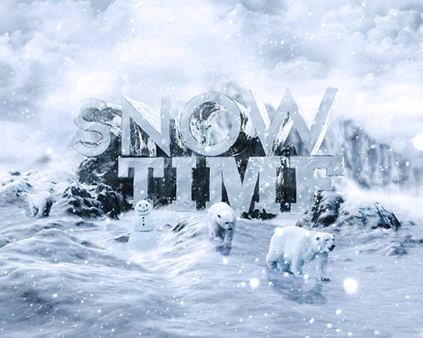 snow time Best of the web and design in September 2014
