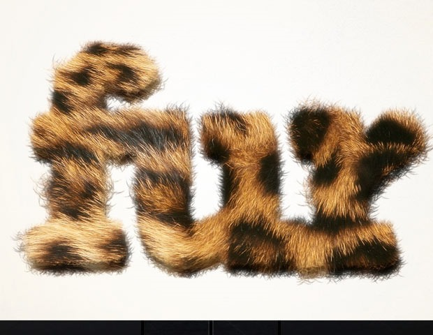 fur text thumb 20 tutorials for learning and mastering Pixelmator