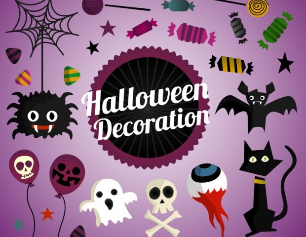 halloween decoration 40 Essential Halloween vectors and icons
