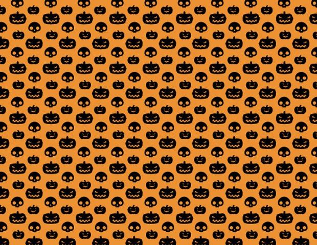 halloween pattern pumkin1 40 Essential free Halloween vectors and icons