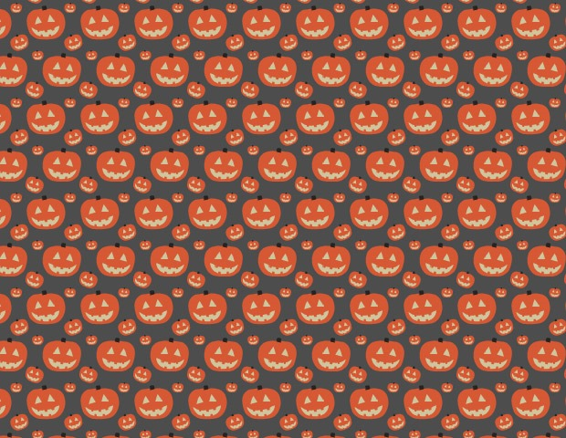 hallween pumkin pattern1 40 Essential Halloween vectors and icons