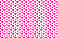 pink-heart-scribbled-pattern