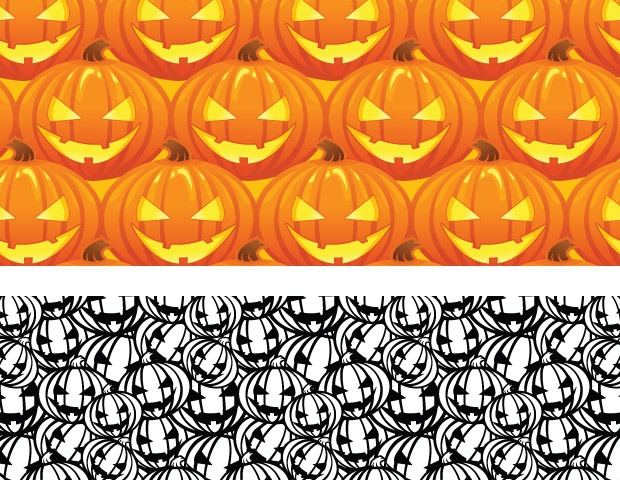 pumkin pattern 40 Essential Halloween vectors and icons