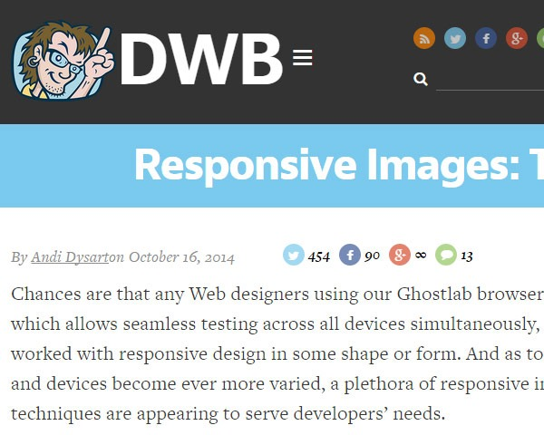 responsive images Best of the web and design in October 2014