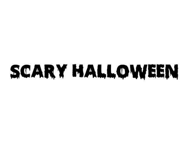 scary halloween font 40 Essential Halloween vectors and icons