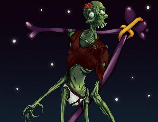 cartoon zombie 60 Best Photoshop tutorials from 2014