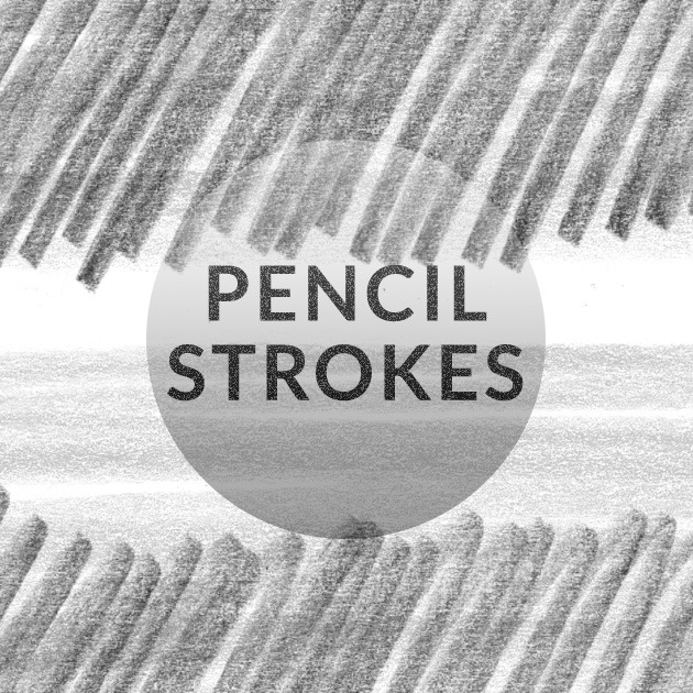 pencil strokes scribbles photoshop thumb Pencil messy strokes free Photoshop brush set