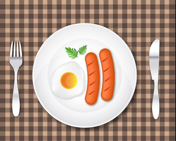 breakfast thumb 60 Best illustrator tutorials from 2014