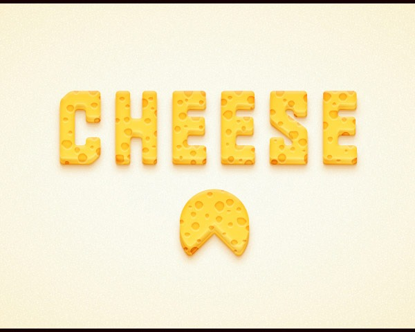cheese text effect thumb 60 Best illustrator tutorials from 2014