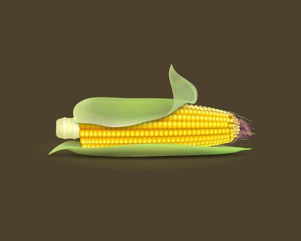 corn cob 60 Best illustrator tutorials from 2014