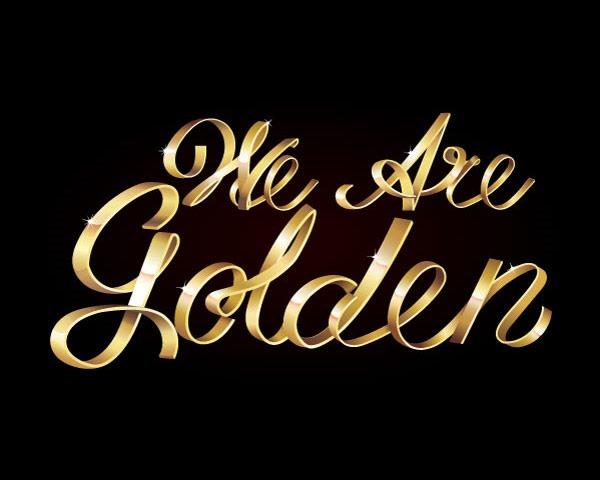 golden text thumb 60 Best illustrator tutorials from 2014