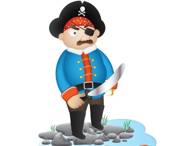 pirate 60 Best illustrator tutorials from 2014