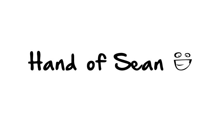 hand of sean 20 best hand drawn free fonts