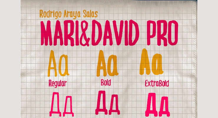 mari david 20 best hand drawn free fonts