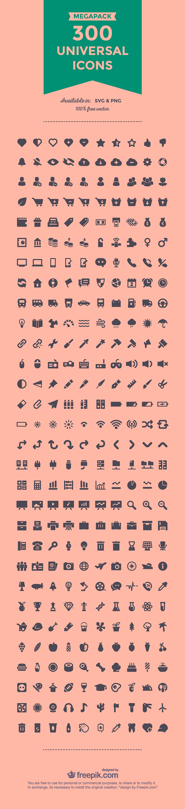 300 Universal icons 01 thumb The best design articles from 2015