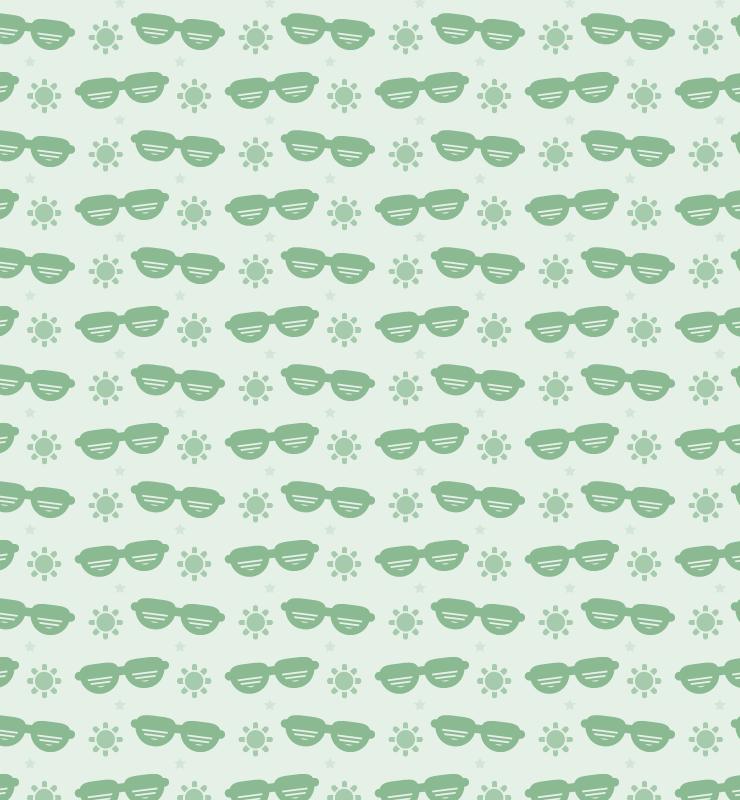 dark green sun and sunglasses pattern creative nerds thumb 1000+ bundle of amazing free design resources