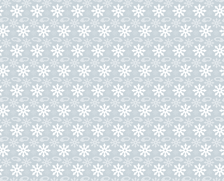 winter snoflakes and goggles pattern 02 thumb Winter goggles and snowflakes free seamless vector pattern