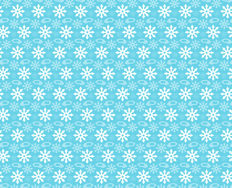 winter snoflakes and goggles pattern 03 thumb Winter goggles and snowflakes free seamless vector pattern