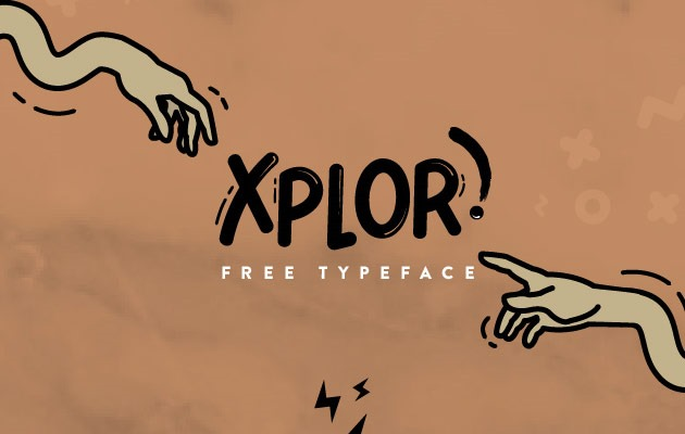 xplor 40 Best free fonts from 2015