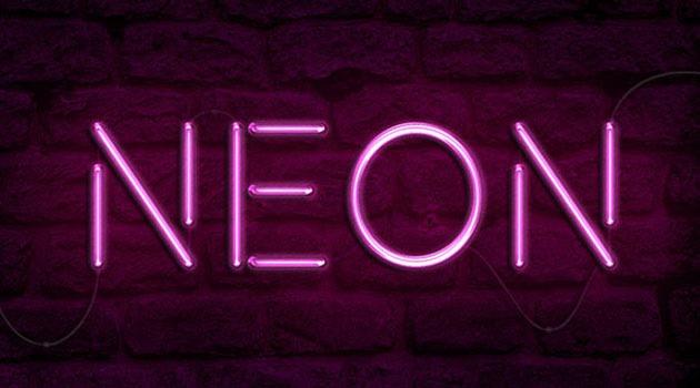 neon 20 fresh new Photoshop tutorials from 2015